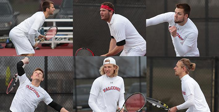 Men's Tennis well-represented on All-NACC Teams