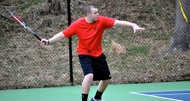 Randolph Defeats LC Men 5-2; Women's Match with WildCats Suspended Until Thursday