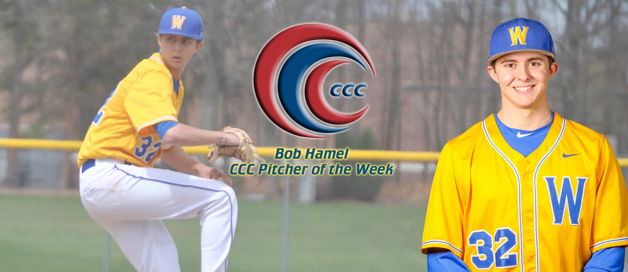 Bob Hamel Named CCC Pitcher of the Week