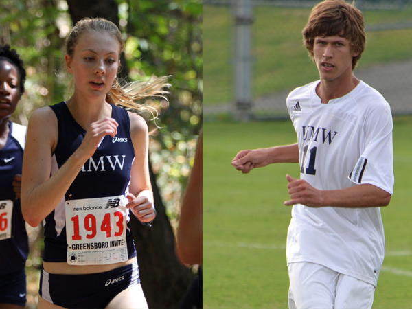 Liz Green, David Heller Named UMW Scholar-Athletes of the Year
