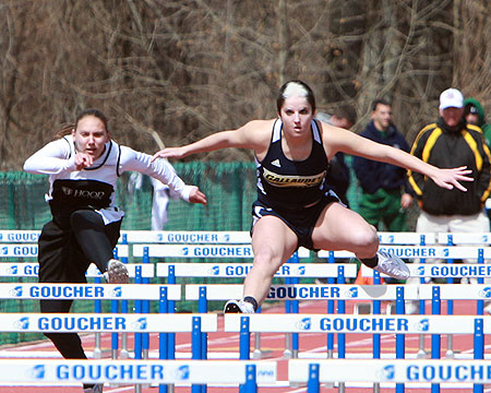 Bison women's track and field places 9th at Goucher College Classic