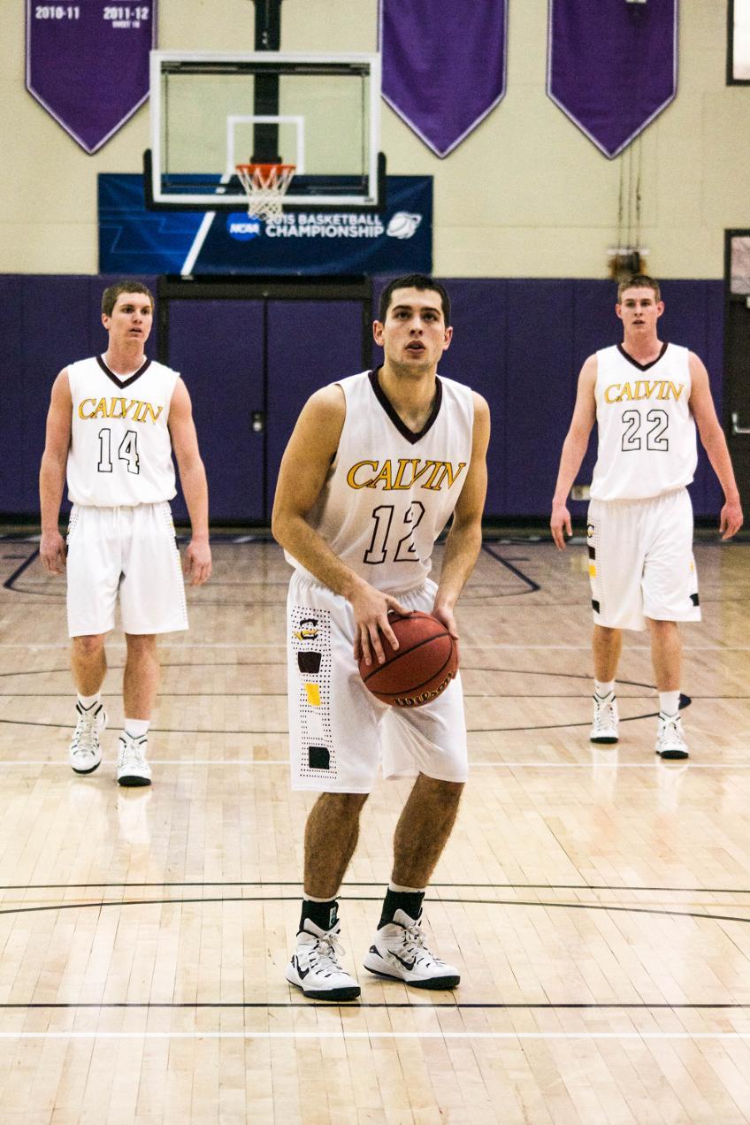calvin college mens basketball