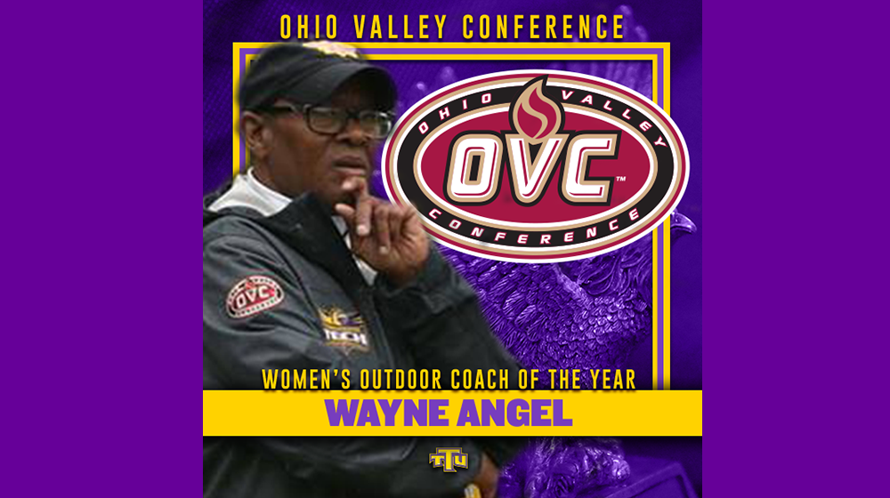 Angel named OVC Outdoor Coach of the Year