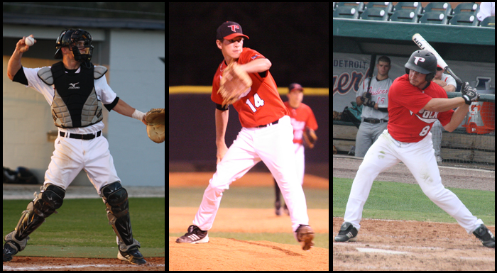 Three Polk State Baseball Players Earn Summer League All-Star Honors