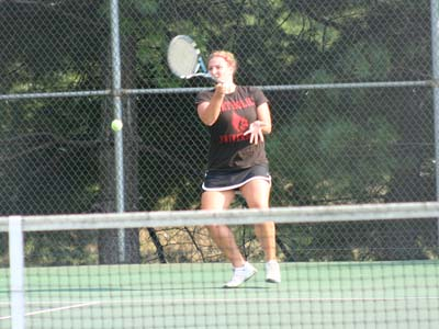 Three Cardinals win in singles, but CUA falls to ESU