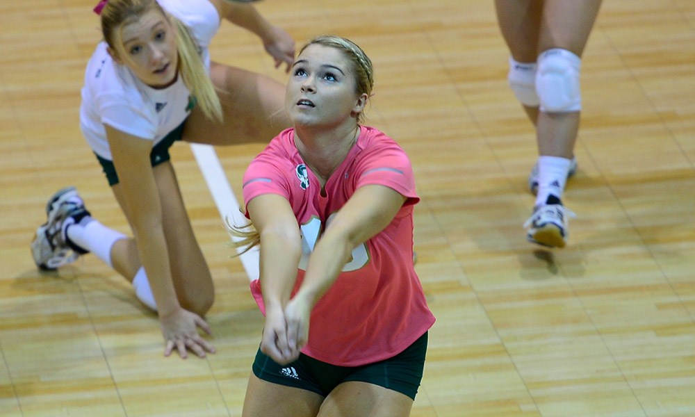 VOLLEYBALL COMPLETES LONG ROAD TRIP WITH 3-0 LOSS AT NORTHERN ARIZONA