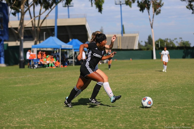 Itzel Ballesteros had a goal and two assists for the Falcons