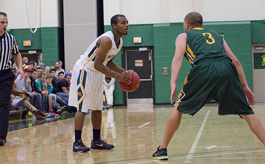 Blackwell Scores Career High As NMU Men's Basketball Falls At Lake Erie