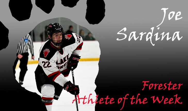 Joe Sardina Named Forester Athlete of the Week