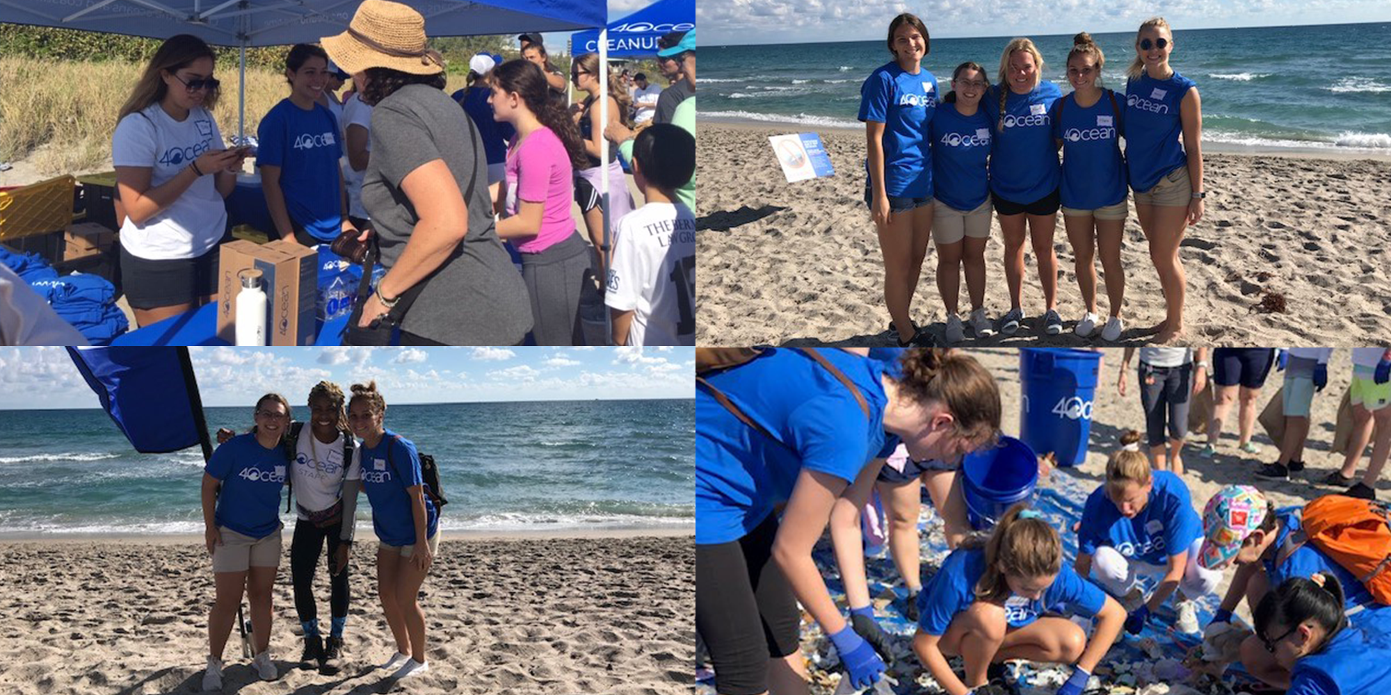 Lynn's SAAC Teams Up with 4ocean for Beach Cleanup