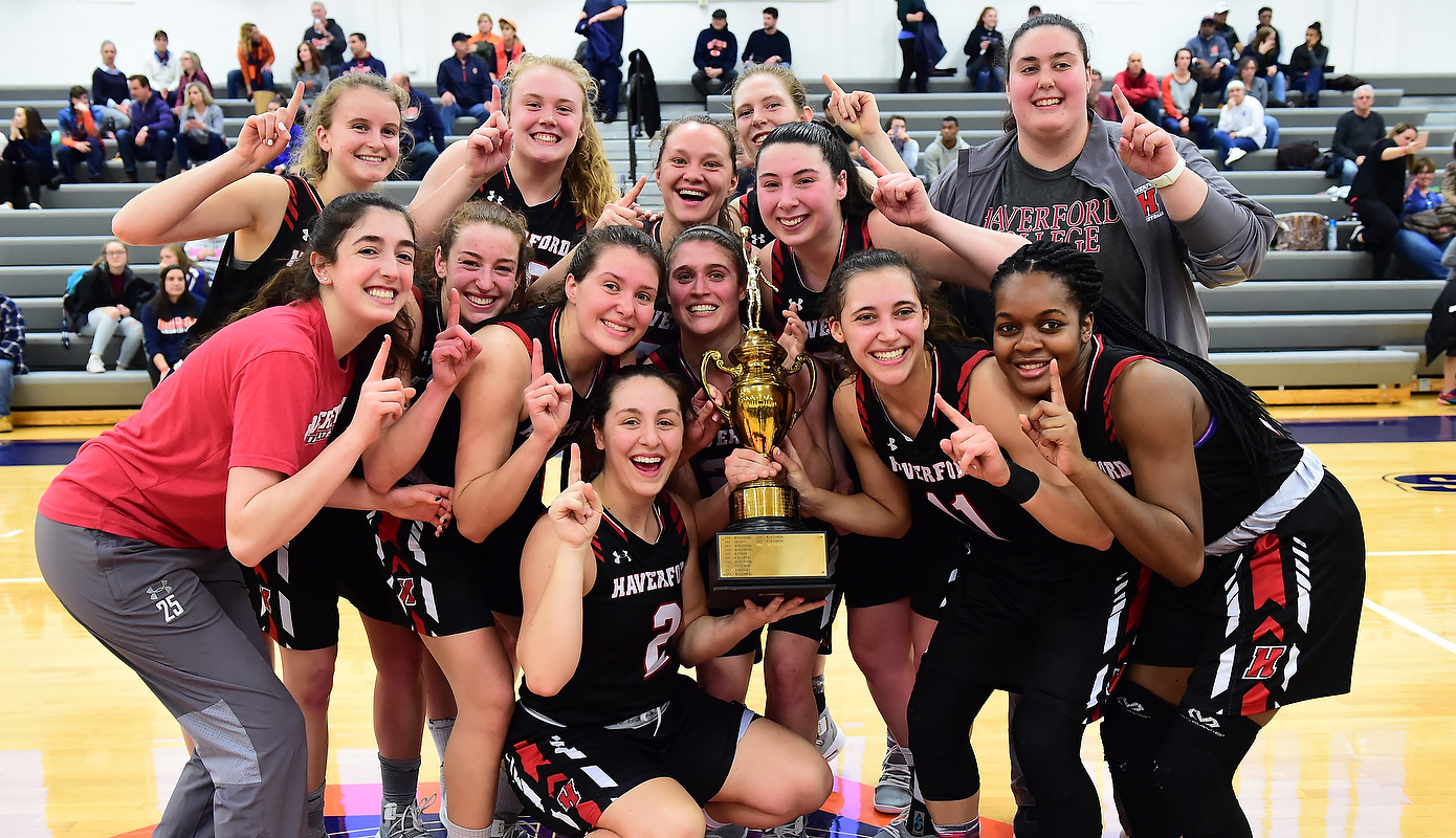 Centennial Champs! Women's Basketball Routs Gettysburg for Conference Title