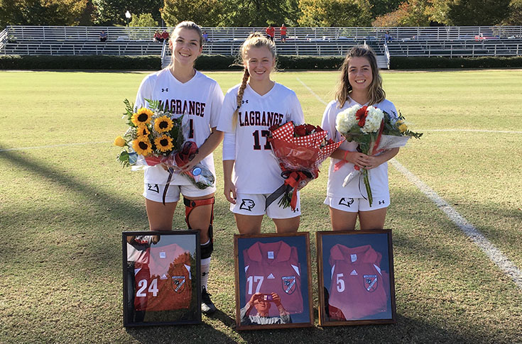 Women's Soccer: Panthers score 4-0 win over Judson on Senior Day