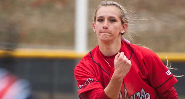 Hornet Softball Takes Two at Salisbury Tourney - Amber Ingram Falls One Out Short of a No-Hitter