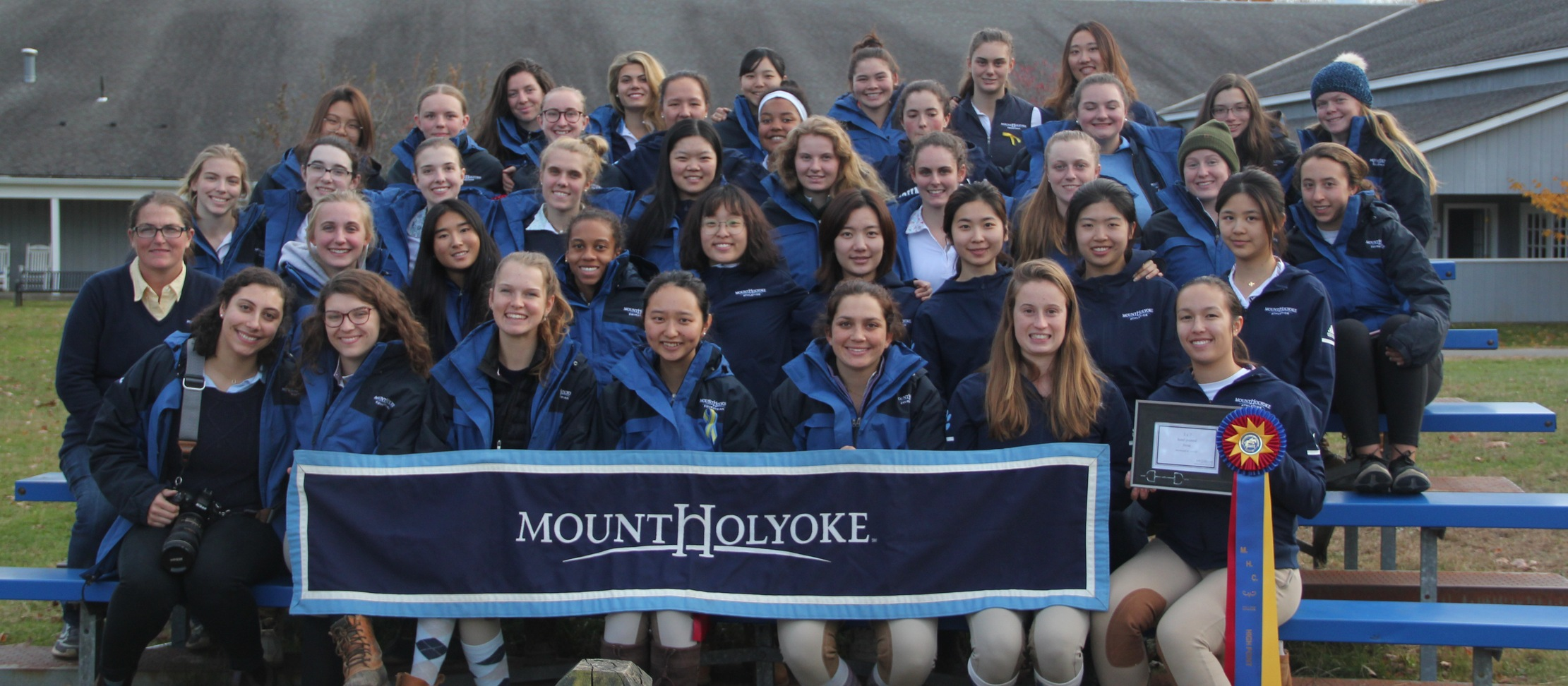 Riding Claims High Point College Title at Mount Holyoke College Show