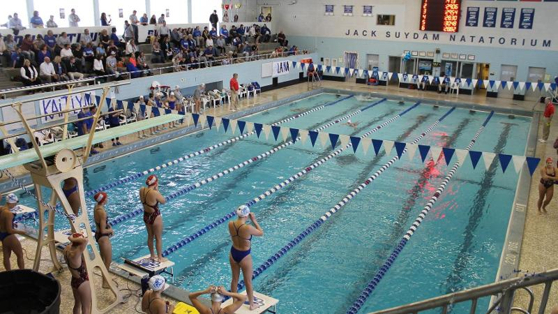 Blue Devils Tops Wagner 161-139, Set Six Pool Records on Saturday on Staten Island
