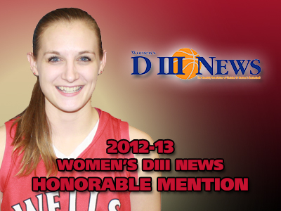 Roser Earns Honorable Mention Merits From Women's DIII News
