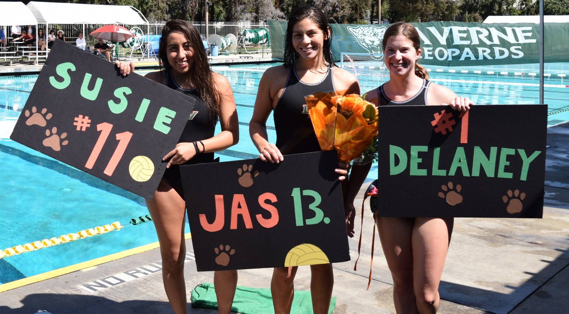 Women's Water Polo Celebrates Senior Day