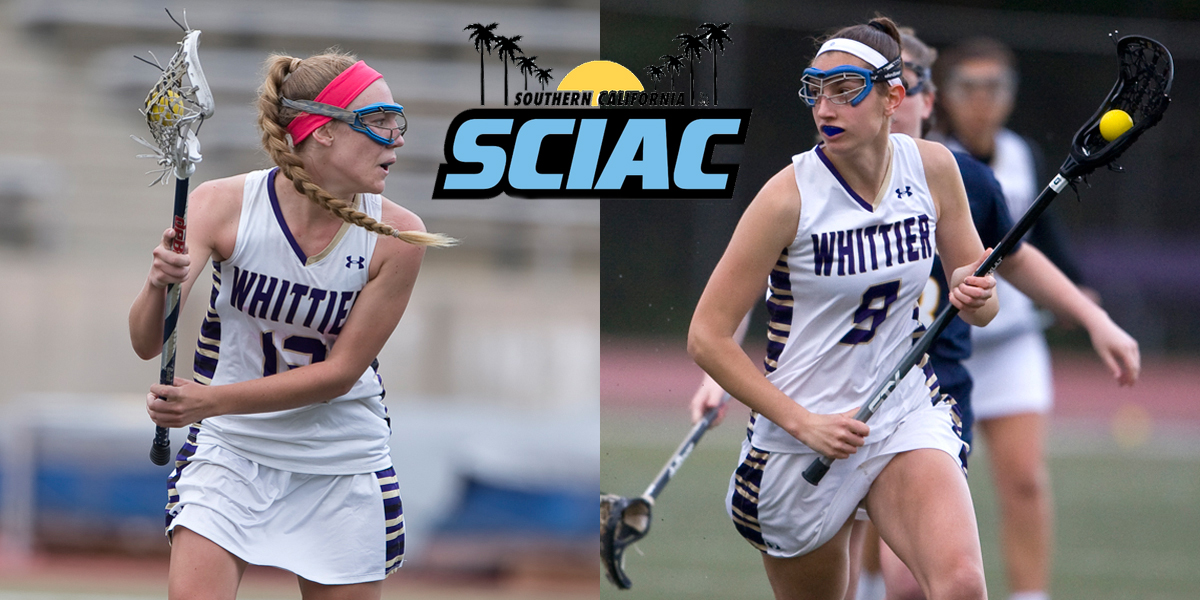 Lexie Meanor and Emily Hansen named All-SCIAC