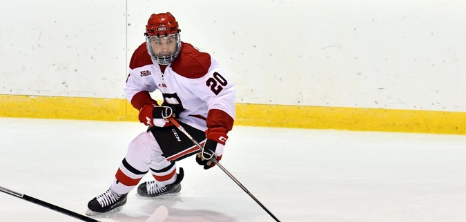 Risteau nets two as St. Lawrence falls to Colgate