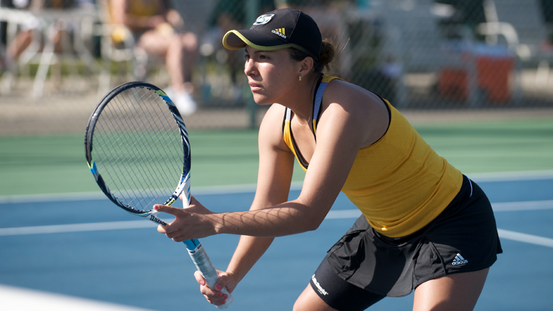 WOMEN'S TENNIS NARROWLY EDGED BY NEVADA