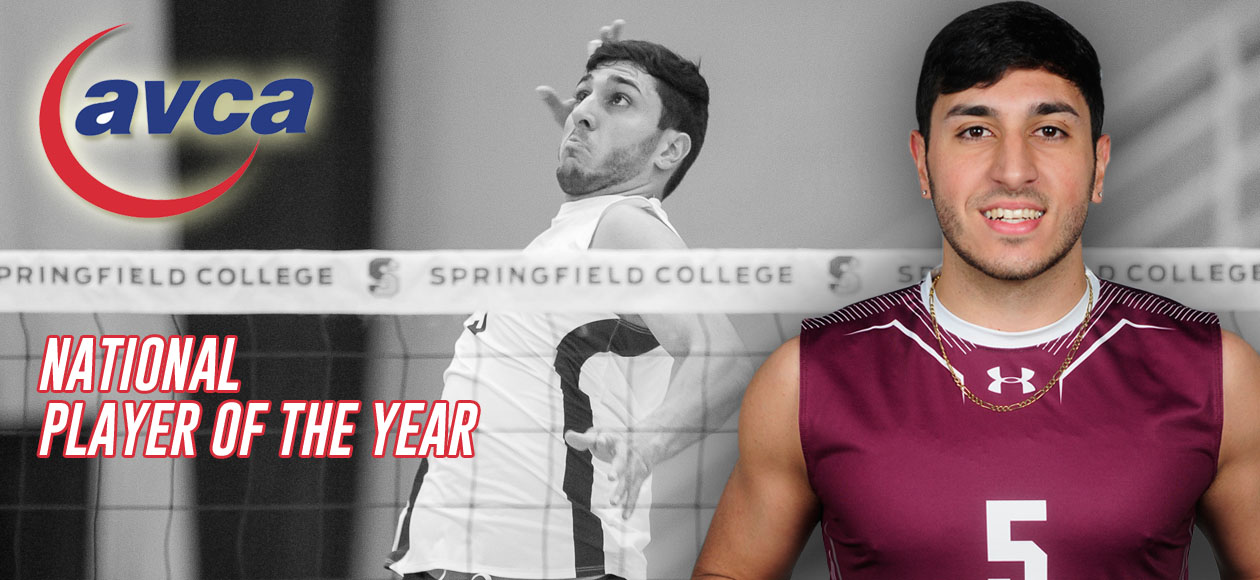 Vega Selected As 2017 TeamSnap/AVCA Men's Volleyball Division III National Player of the Year