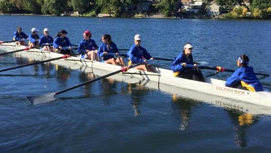 Big Stride For Women's Rowing