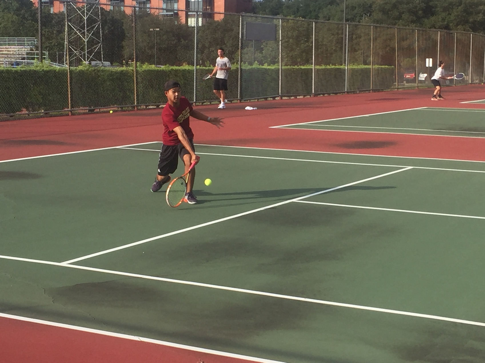 Rainy Start to ITA's Highlighted by Austin College Doubles Play