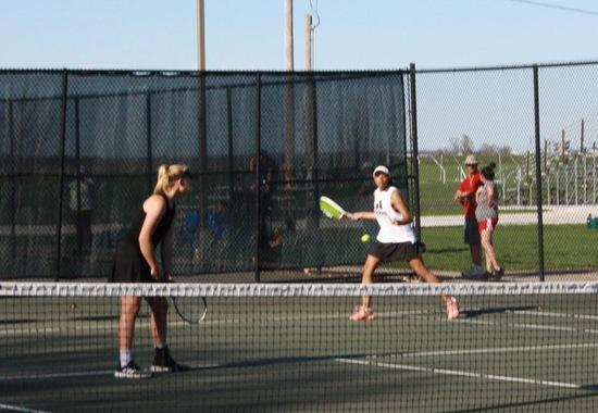 Blackburn Women's Tennis dominates Fontbonne