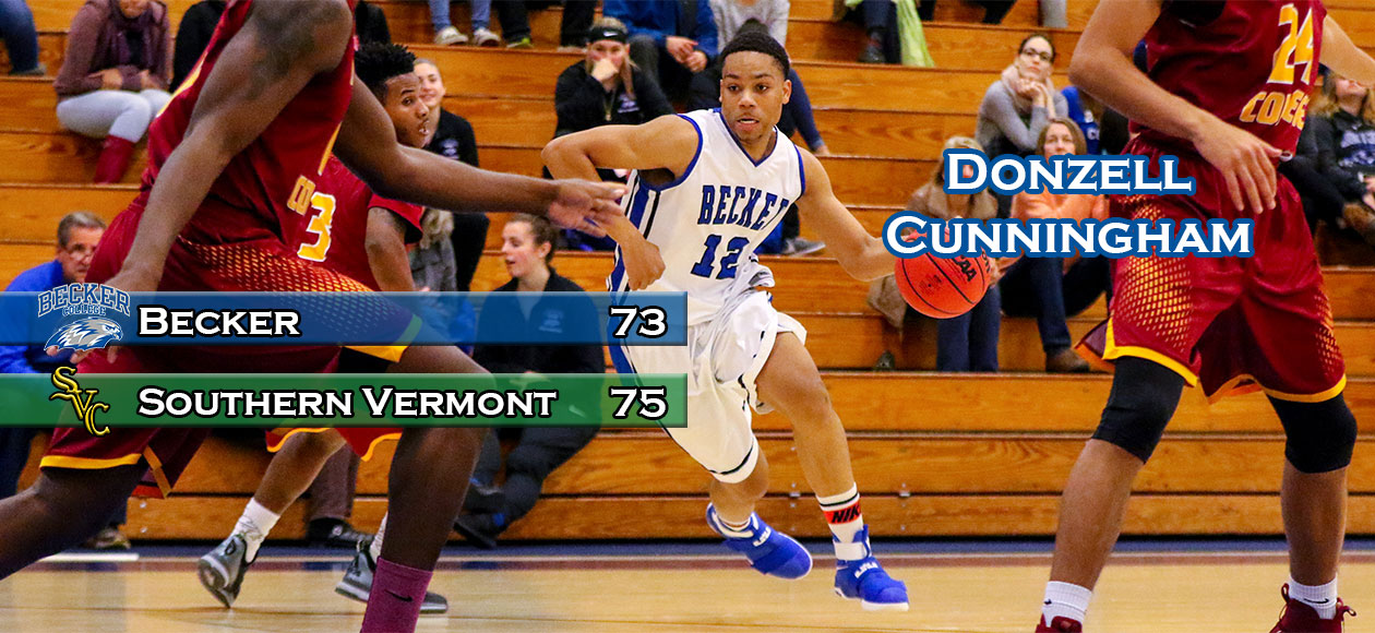 Men's Basketball upset at Southern Vermont, 75-73