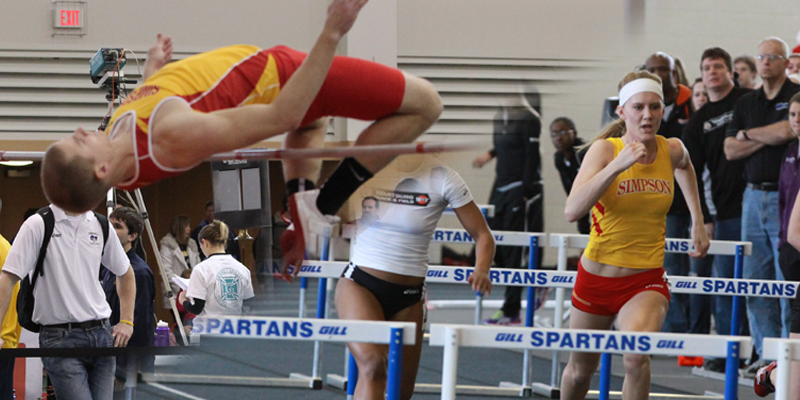 Track teams turn in solid performances during 2014 opener