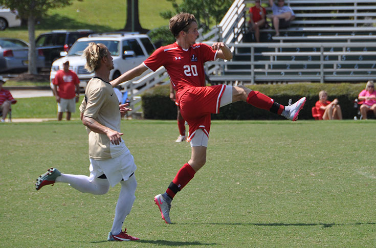 Men's Soccer: Provence's goal highlights Panthers' USA South game with Ferrum