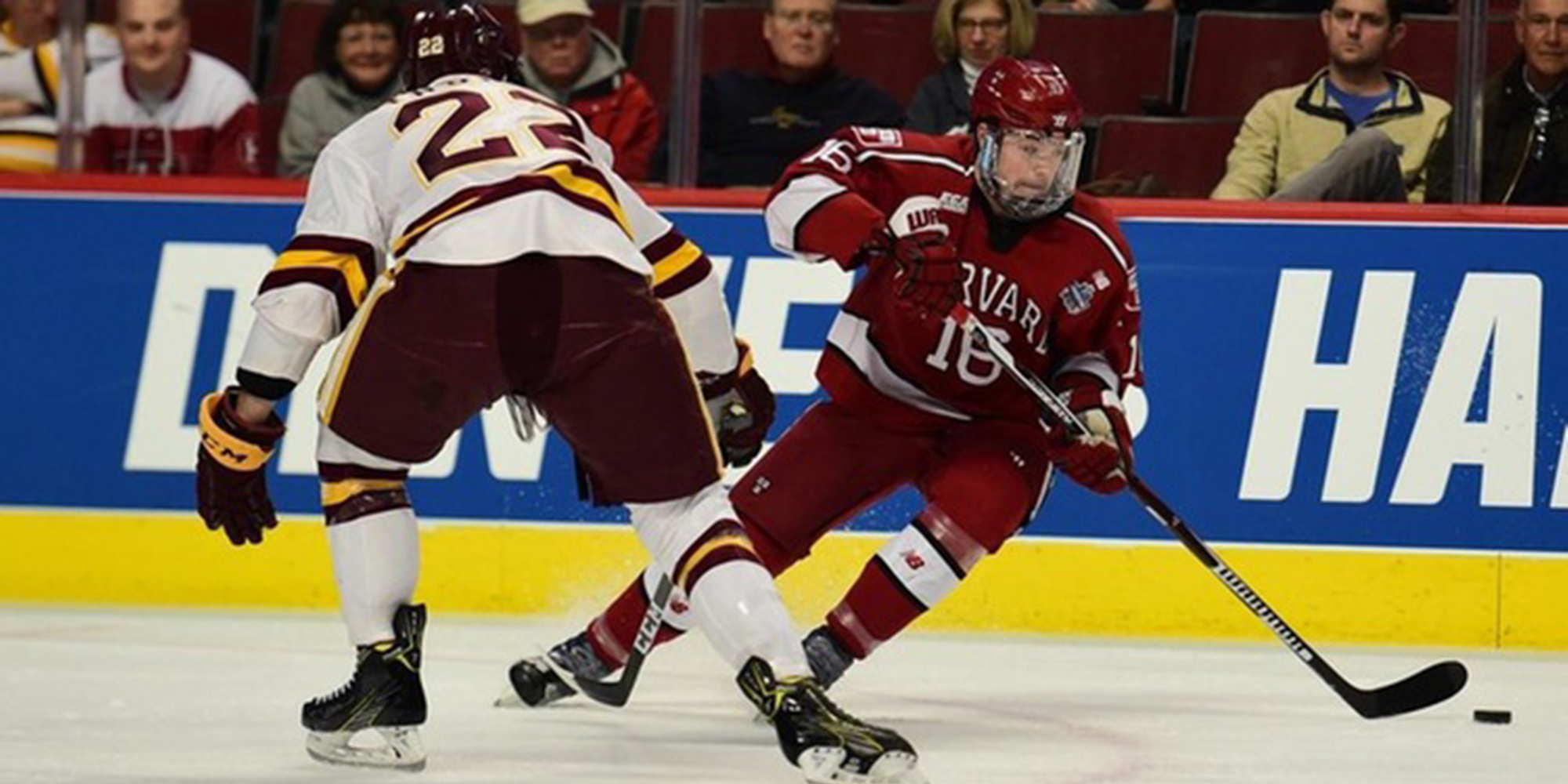 Donato's Four Goals Leads No. 4 Harvard to Victory Over No. 6 Union