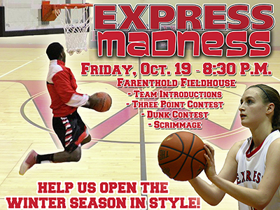 Join Us For Express Madness!