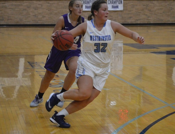 Tigers Upset Westminster Women's Basketball
