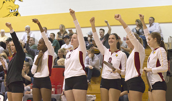 2012 Ferris State Women's Volleyball Yearbook