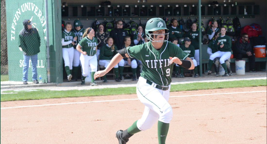 Kate-Lynn Urgo scored Tiffin's lone run in the nightcap.