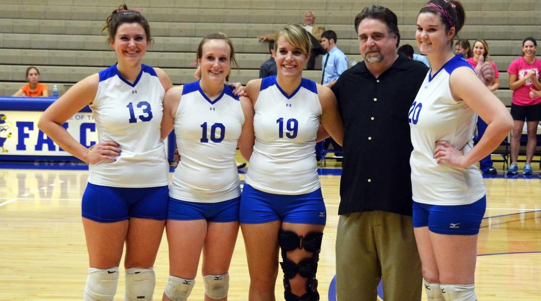 Cawley steps down after 13 season at the helm of Volleyball program