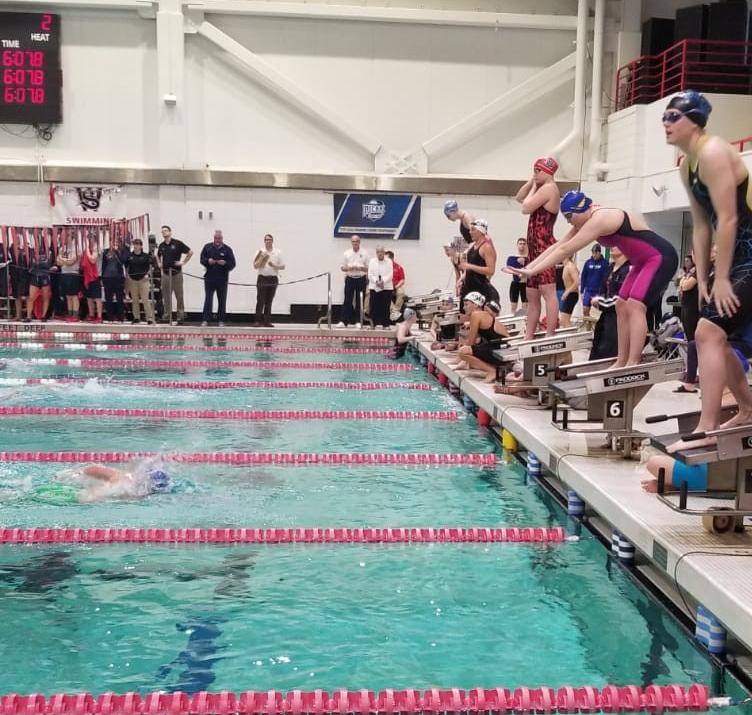Laker Swimmers Have Big Day 2 at Nationals