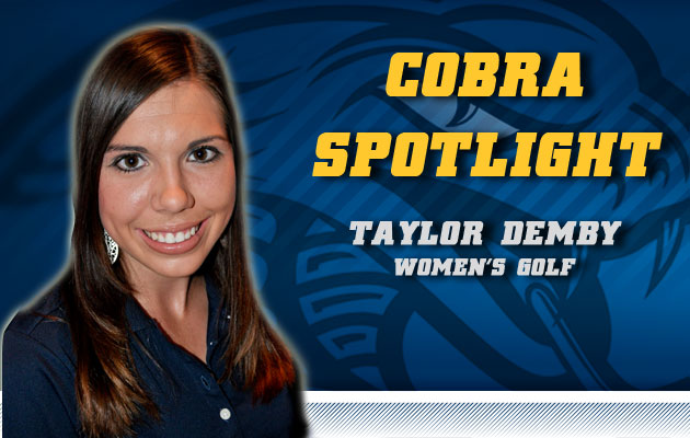 Cobra Spotlight- Taylor Demby, Women's Golf