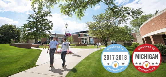 Adrian College Earns National Recognition as College of Distinction, Best Value School