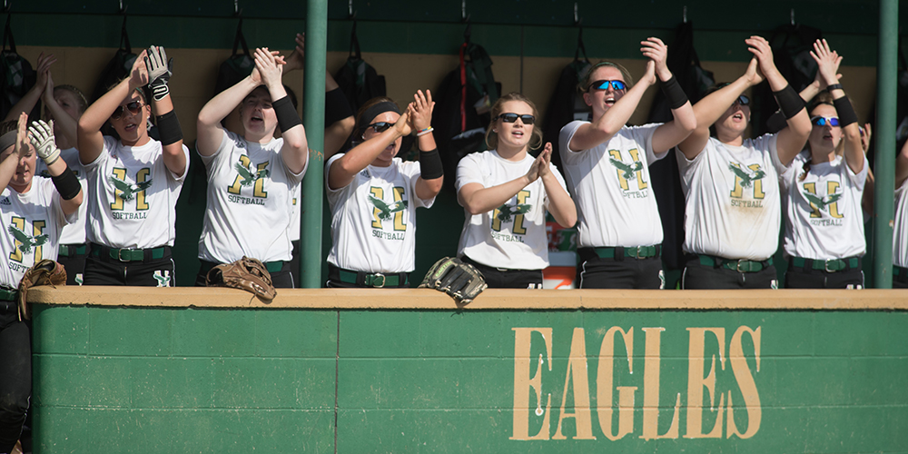 Softball Forces Game 7 By Beating New England College, 9-1