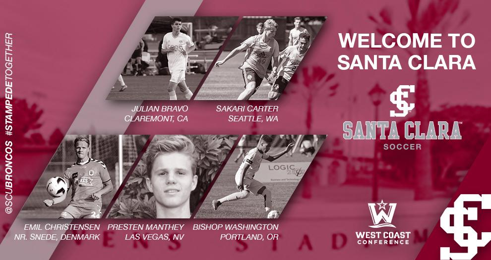 Men's Soccer Hauls In Players From Four States And Denmark In 2018 Recruiting Class