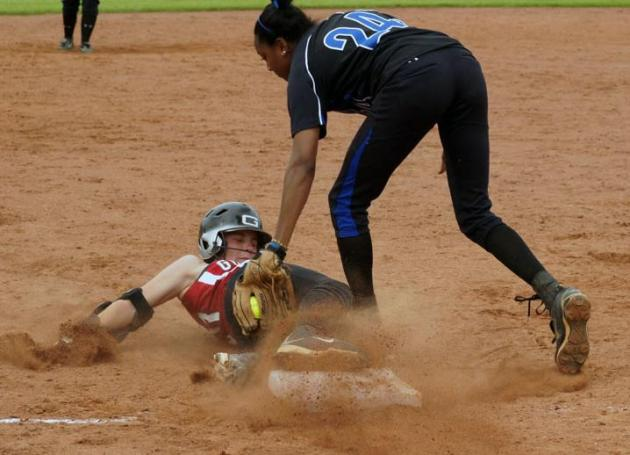 Visiting Eastern Mennonite Takes Softball Pair From Guilford
