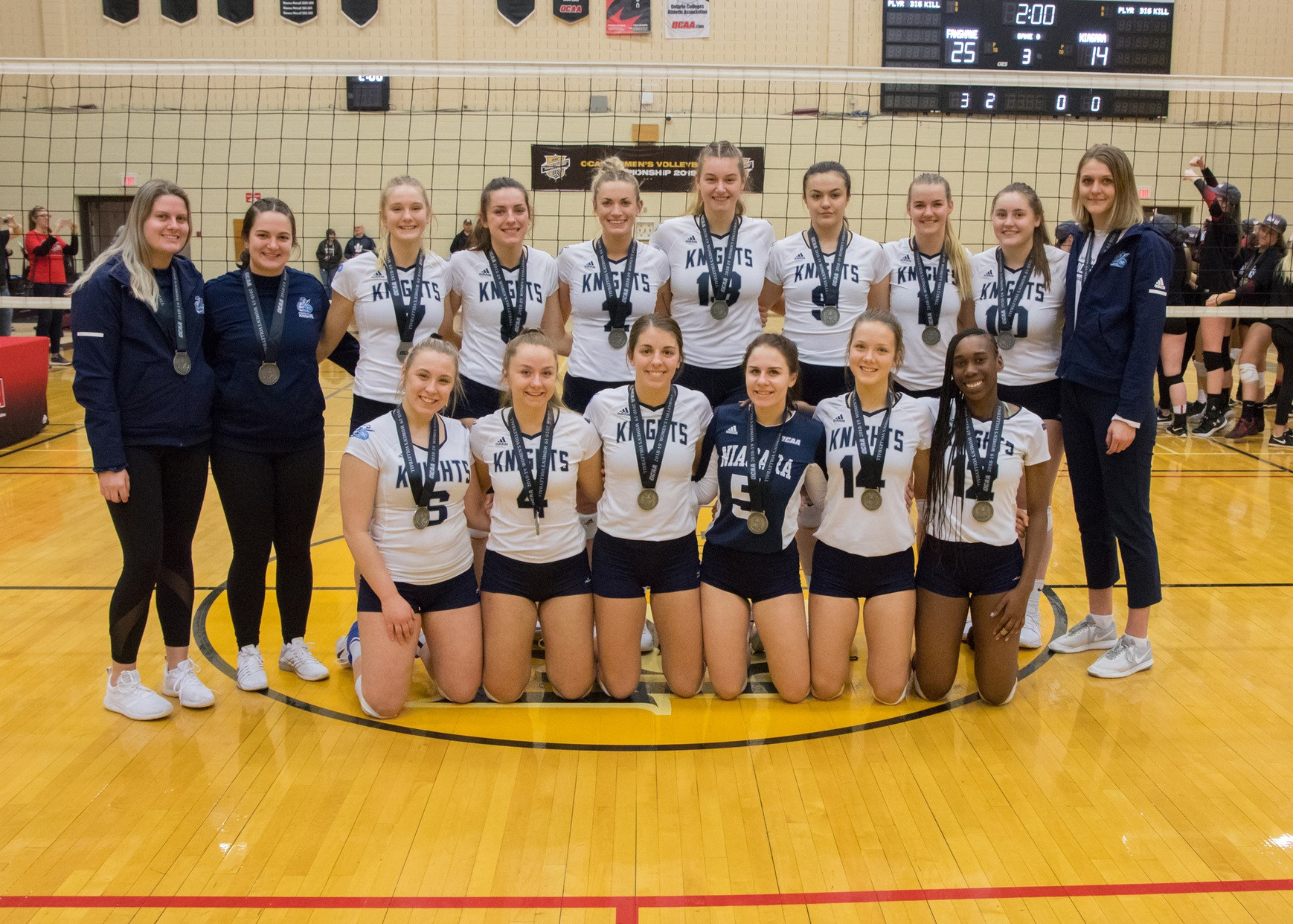 Spaling Steps Away from Women's Volleyball Program