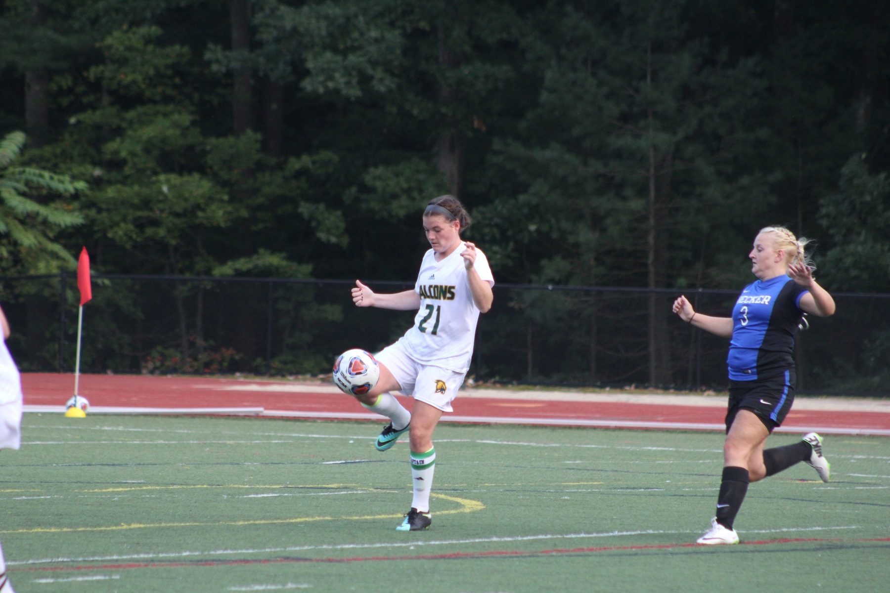 Falcons Fall to Lynx in Women' Soccer