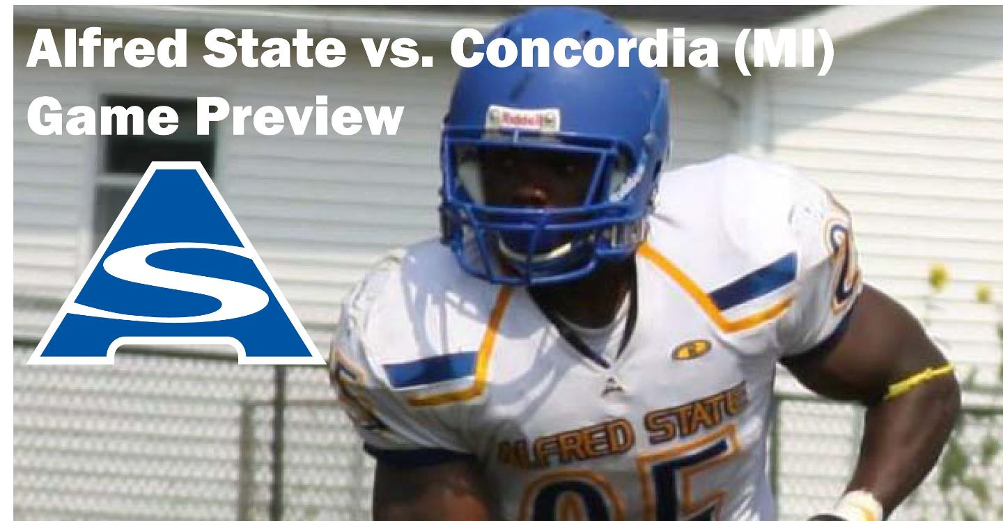 Alfred State - Concordia Game Preview