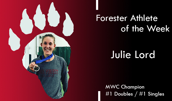 Julie Lord Named Forester Athlete of the Week
