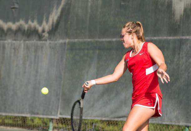 Wittig Wins Third Straight Singles Match as Spartans Fall to Lions
