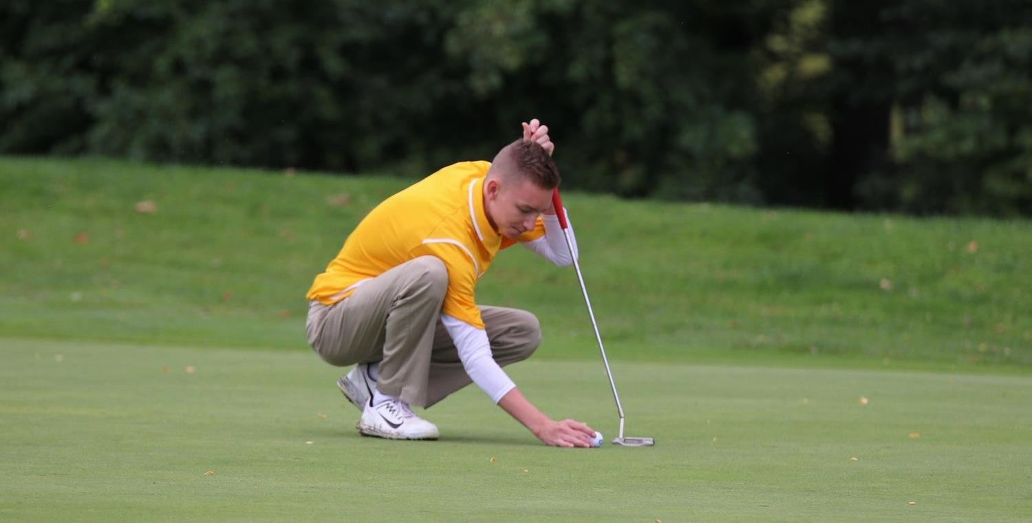 Junior AJ Hranek shot a 79, setting a new career-best score