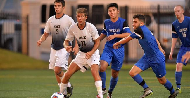 McCarthy, Taylor Net Goals As Men's Soccer Drops 5-3 Non-League Decision At Nichols